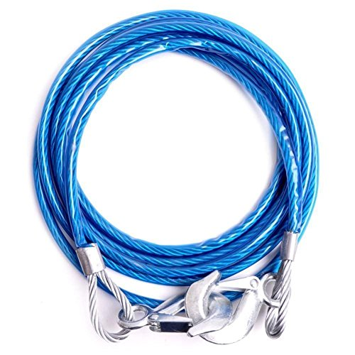 Banggood Emergency Tow Pull Rope Snatch Strap for Car (8mm x 4m, 3000kgs)