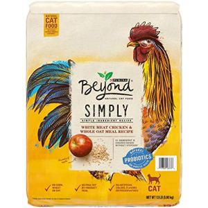 Purina Beyond Natural Limited Ingredient Dry Cat Food, Simply White Meat Chicken & Whole Oat Meal Recipe – 13 lb. Bag