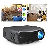Native 1080P Projector Bluetooth WiFi 7000 Lumen Support 4K Full HD Wireless Movie Projectors Home Theater Cinema with HDMI USB Audio VGA Built-in Speaker Smart TV Proyectors