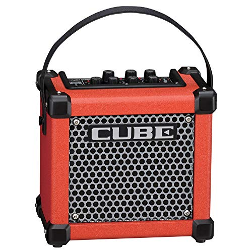 Roland MICRO CUBE GX Portable 3-Watt Guitar Amplifier, Red