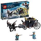 LEGO Animales Fantásticos - Huida de Grindelwald, Juguete de Construcción del Mundo Mágico de Fantastic Beasts (75951)