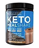 Keto Science Ketogenic Meal Shake Chocolate Dietary Supplement, Rich in MCTs and Protein, Keto and Paleo Friendly, Weight Loss, (14 servings), 20.7 oz Packaging May Vary (Health and Beauty)