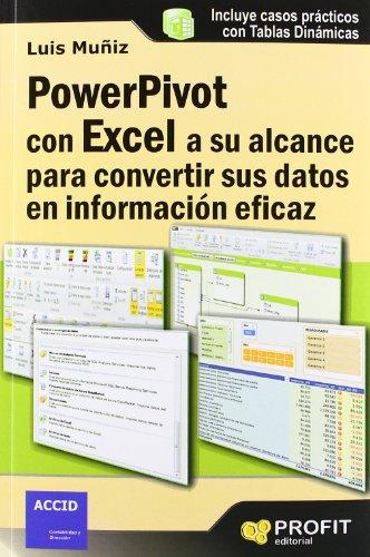 Powerpivot con excel a su alcance para convertir sus datos en información eficaz: Casos prácticos