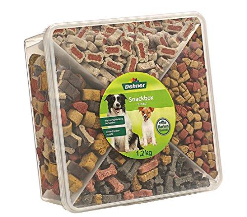 Dehner Hundesnack, Snackbox Jumbo, 4 Sorten-Mix, 1.2 kg
