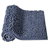 Microfiber Bath Rugs Chenille Bath Mat, Ultra Soft NUFR Bathroom Rugs Bath Mats Sets Dry Fast Water Absorbent Bedroom Area Rugs Kitchen Rugs Indoor Mats for Entryway