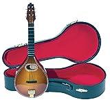 Gewa 980640 Instrument miniature Mandoline avec Etui 15 cm