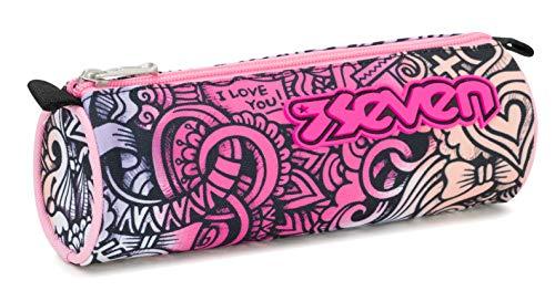 Bustina Seven Pinkshade, Rosa, Scuola, 21 cm