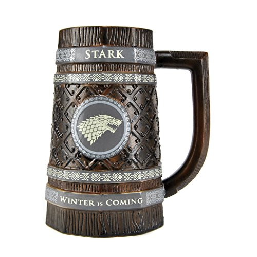 Game Of Thrones Jarra de Cerveza Stark Juego de Tronos, 900ml