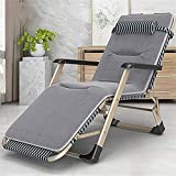 CHLDDHC Chaise Longue de Plage extérieure, Salon Pliant, lit Simple, Salle à Manger de Bureau, Salon de Jardin