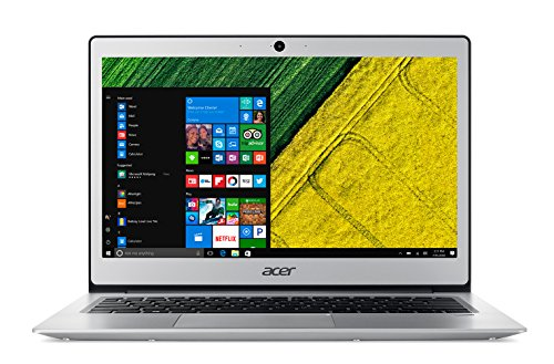Acer Swift 1 SF113-31-P2XA Notebook con Processore Intel Pentium Quad Core N4200, RAM da 4GB DDR3,...