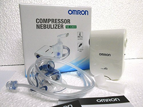 Omron NE C803 Compact & Lightweight Compressor Nebulizer For Child & Adult With Low Noise Operation...