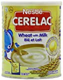 Nestle Cerelac Stage 1 From 6 Months Wheat with Milk 400 g (Pack of 4)
