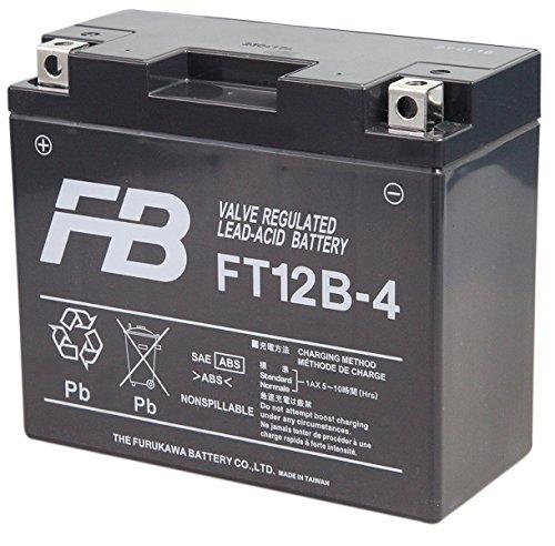 FURUKAWA [ 古河電池 ] シールド型 バイク用バッテリー [ 液入充電済 ] FT12B-4