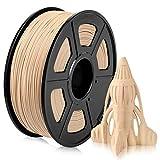 Wood PLA Filament, PLA Imprimante 3D Filament 1.75mm, Filament...