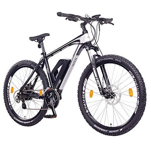 NCM Prague Bicicletta elettrica Mountainbike, 250W, Batteria 36V 13Ah 468Wh (27,5' Nero)