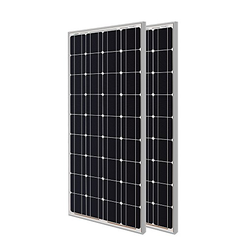 Renogy Panel solar monocristalino, 200W