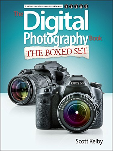 Scott Kelby's Digital Photography Boxed Set, Parts 1, 2, 3, 4, and 5...