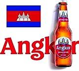 カンボジアビール アンコールビール瓶330ml×24本