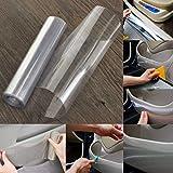 CVANU Transparent Car Protective Film Vinyl Wraps 12\x60\