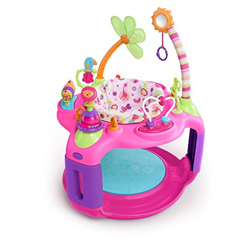10. Bright Starts Sweet Safari Bounce-a-Round Activity Center