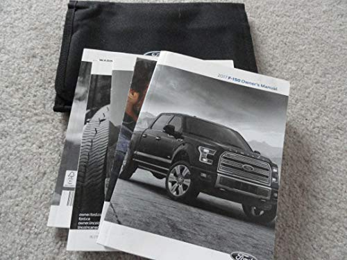 Original 2017 Ford F-150 Truck Owners Manual - 590 Pages