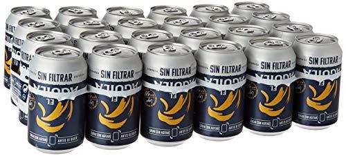 El Aguila Cerveza Especial sin Filtrar, Paquete de 24 x 330m