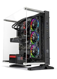 SkyTech [RTX 2080 Ti Version] Supremacy VR/4K Gaming Computer PC Desktop AMD Ryzen 7 2700X, 500GB Samsung 970 Evo SSD, RTX 2080 Ti 11GB, 360mm RGB Liquid Cool, 2TB, 32GB DDR4, Windows 10 PRO