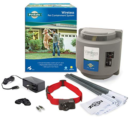 PetSafe Wireless Dog and Cat Containment System  from the Parent Company of Invisible Fence Brand  Above Ground Electric Pet Fence