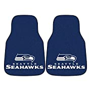 Universal size to fit all vehicle types 100% Nylon face that is chromojet-printed for true team colors Taped edges and vinyl backing add durability and longer life Nibbed backing to keep from skidding Made in the USA Machine washable for easy cleanin...