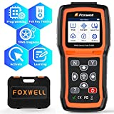 FOXWELL TPMS Sensor Relearn Tool T1000-TPMS Programming Tool with TPMS Sensor Activation, Tire Pressure Monitor System with TPMS Relearn/Activate All Sensors, Key Fob Testing, Lifetime Free Update