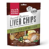 The Honest Kitchen Gourmet Barbecue Liver Chips - Chicken Liver And Cheddar Recipe, 4 oz Bag
