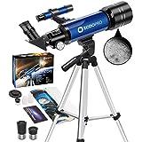 télescope pour Enfants débutants Astronomie Adultes Adolescent Portable...