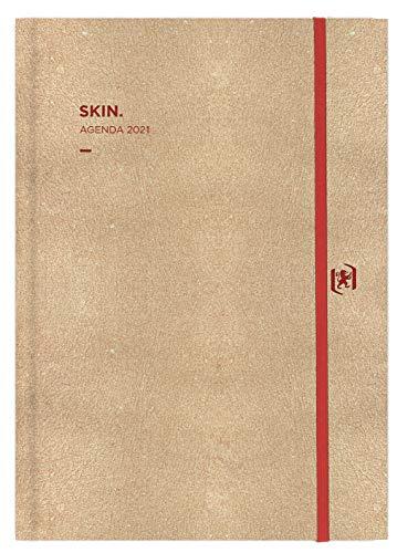Agenda Anual 2021 Oxford Skin Surtida A5 Semana Vista Castellano
