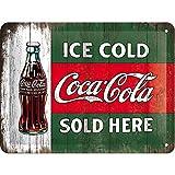 Nostalgic-Art 26174 Ice Cold Sold Here – Idée de Cadeau pour Les Fans de...