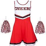 Redstar Fancy Dress - Déguisement de Pom-Pom Girl pour Femme - Uniforme avec...