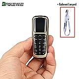 Baikewei 3 en 1 Mini teléfono Bluetooth Marcador Mundo El teléfono móvil más...