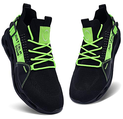 Caitin Mens Running Tennis Blade Shoes Lightweight Casual Walking Sneakers