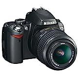 Nikon D60 Appareil photo numérique Reflex 10.2 Kit Objectif AFS DX VR 1855...
