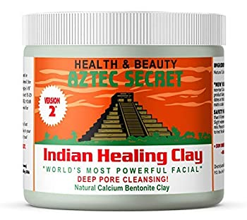 Aztec Secret Indian Healing Clay is a deep pore cleansing facial, hair and body mask 100% Natural Calcium Bentonite Clay that's great for facials, body wraps, clay baths, foot soaks, hair masks, chilled clay knee packs, insect bites & more Shrink-wra...