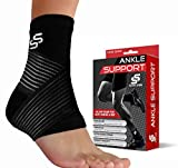 Sleeve Stars Ankle Brace Plantar Fasciitis and Ankle Support, Ankle Compression Sleeve for Achilles...