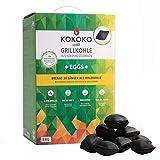 McBrikett KOKOKO EGGS Premium Grillkohle, 8 kg Bio...