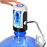 Water Bottle Pump, Water Bottle Dispenser 5 Gallon USB Charging Automatic Drinking Water Pump...