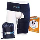 Hip Brace-Groin Wrap for Sciatica Pain Relief Thigh Hamstring Compression Sleeve - Unique Quadriceps Support...