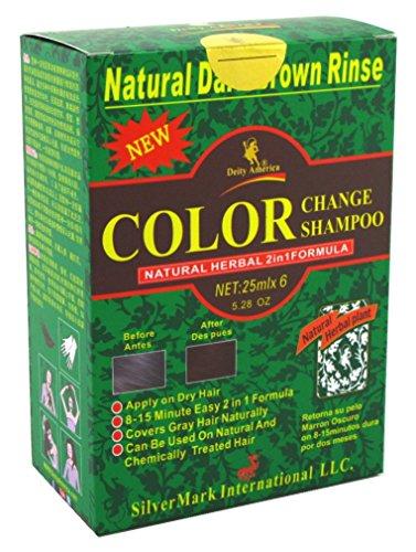 Deity Shampoo Color Change Kit Natural Herbal 2N1...