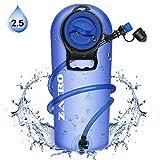 Zacro Poche Hydratation Portable 2.5 litres, Poche a Eau,Réservoir d'eau de Sport,Sacs à dos...