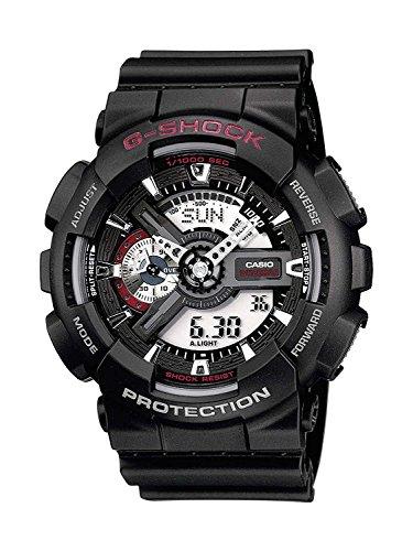 Casio G-Shock Analog-Digital Herrenarmbanduhr GA-110 schwarz, 20 BAR