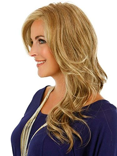 Adriana - Smart Lace Front Hand Tied Monofilament Wig by Jon Renau, 14/26S10 8