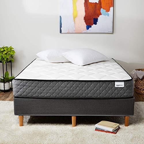Amazon Basics Premium Hybrid Mattress - Medium Feel - Memory Foam - Motion Isolation Springs - 12-Inch, Full