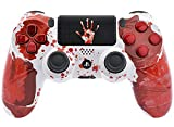 Bloody Hands PS4 PRO Rapid Fire Custom Modded Controller 40 Mods for All Major Shooter Games & More, Custom TouchPAD (CUH-ZCT2U)