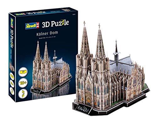 ドイツレベル 3Dパズル ケルン大聖堂 (ペーパークラフト) 00203